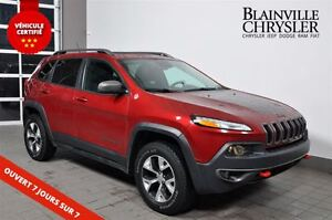 2014 Jeep Cherokee Trailhawk-cuir- toit panoramique