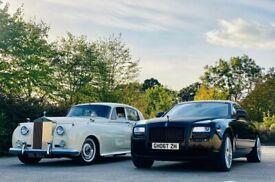 Rolls Royce Phantom/Ghost/Vintage Wedding Car Hire/Chauffeured Service in London, Luton & Essex