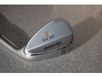 Right handed Cleveland wedge, 588.RTX, Rotex Face. 52 degrees, 10 degrees of bounce