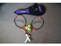 Tennis Racquet, With Case ,ball