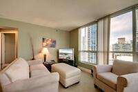 SEPT 2014! Furnished&Equipped 1BR+Den, Coal Harbour views #1603