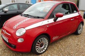 Fiat 500 SPORT (red) 2007