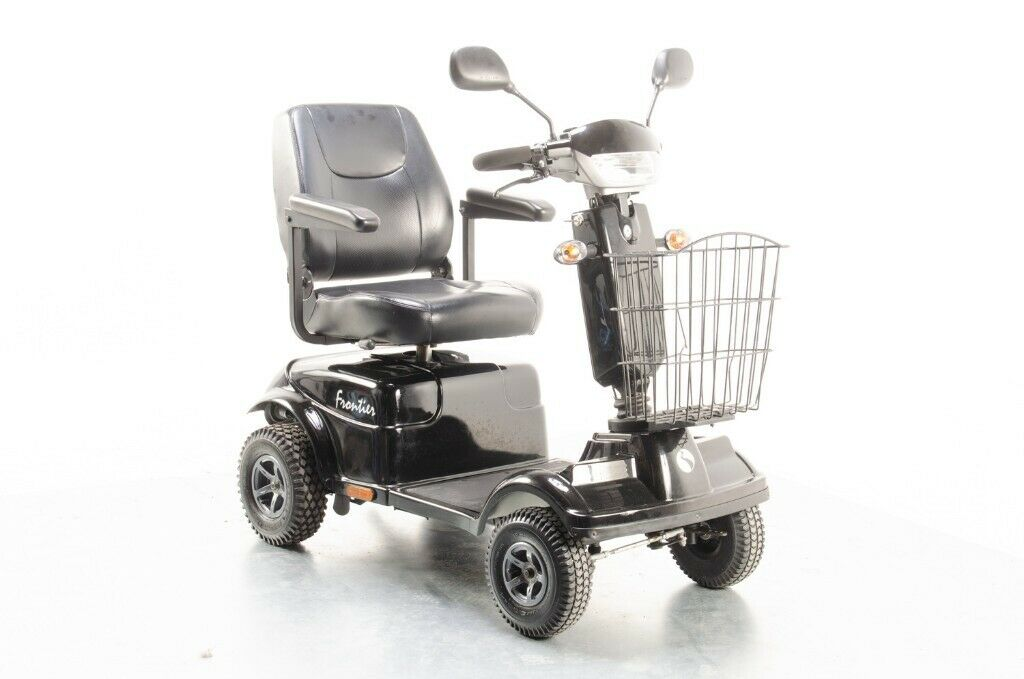 2014 Rascal Frontier from Electric Mobility 8mph Mid Size Mobility Scooter  in Black - 11860 | in Wimborne, Dorset | Gumtree