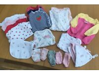Next baby girl clothes 0-3 months