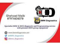 BMW & MINI Coding Programming and Diagnostic Service - London