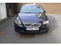Volvo V50 Estate, 1.8 Petrol, Black Metallic