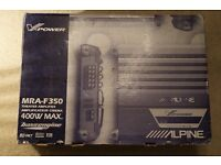 Alpine MRA-F350 In-Car 5 channel theatre amplifier