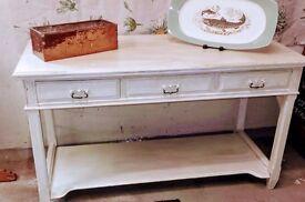 Vintage Hall or Side Table