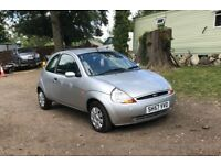 Ford KA style for sale, MOT, very low mileage, drives perfect.