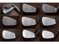 PING i3 Blade Iron Set with Driver, 3 Wood, Putter and Bag.