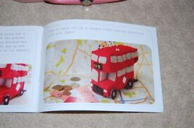 Crafty nana London bus pin cushion kit in carry case - New