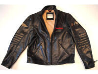 "Hein Gericke Limited Edition Speedware Leather Jacket Size M 40"" Chest"