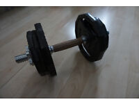 Ultrasport Polygon Dumbbell 10 kg with 2x Handgrip-Slot