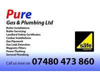 LANDLORD GAS SAFETY CERTIFICATES - BOILER SERVICE/REPAIR - GAS COOKER INSTALLATION