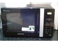 Daewoo black eco efficient microwave