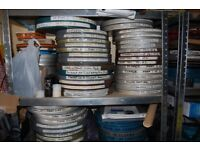 HUGE 16MM FILM LIBRARY FROM CINEMA HERITAGE TRUST THE BIGGEST BRITAIN FOR YEARS L& hARDYS FEAUTRES