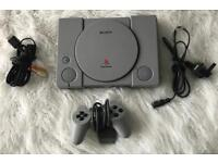 Original Sony PlayStation Console Complete