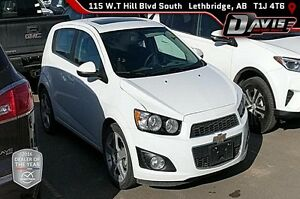 Used 2016 Chevrolet Sonic LT-Heated Seats, Remote Start, Sunroof