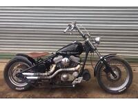 Harley Davidson hardtail chopper chop custom