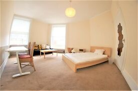 Doughty Street Large one bedroom flat currently used a two bedrrom, kitchen / Breakfast Room