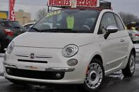 2012 Fiat 500   LOUNGE CABRIOLET + CUIR