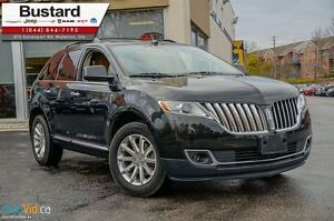 2011 Lincoln MKX LEATHER l NEW BRAKES/ NAV l BLIND SPOT SENSORS  Kitchener / Waterloo Kitchener Area image 1