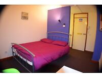 Hotel style rooms, flatshare, comfortable rooms, first rent 230!