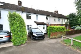 Spacious 4 bedroom terraced house with private garden and parking in Chesterton