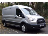 Ford Transit 2.2 TDCi 125ps 350 L3H2 Trend in Silver