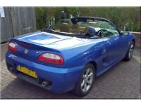 Urgent ! MG TF 1.8 - 47000 miles only - £1200