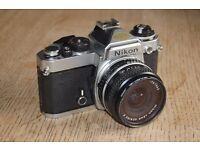 Nikon FE SLR 35mm camera