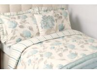 Laura Ashley bedding and curtains