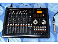 Tascam DP02CF Digital Multitrack Recorder- Excellent Condition - Light Home Use Only
