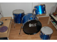 Cheap drums with expensive heads!