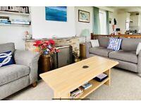 Monaco grey grand sofa and armchair