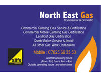 Combi Boiler/Gas fitter/Bathroom/Plumber/commercial catering gas & Mobile Lpg/Heating/Kitchen Fitter
