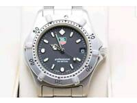 Tag heuer 2000 stainless steel watch