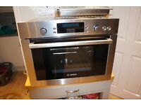 BOSCH INTEGRATED STEAM OVEN Model No EN-R HBC26D550