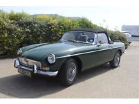 MGB Roaster 1971 - Superb Condition, Tax & MOT Exempt Ready To Go!