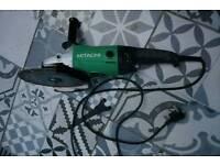 "Hitachi 9"" Angle Grinder"
