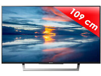 brand new seald sony bravia kdl43wd750 . led 3d smart with wifi build in.