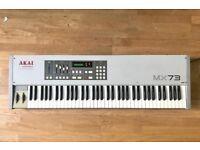 AKAI MX73 - 6 Octave MIDI controller + MIDI to USB cable