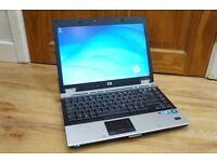 HP EliteBook Laptop 4gb Win7 Office