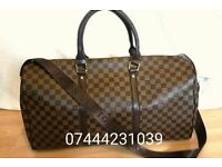 Bag checkered lv gym duffle holdall Louis Vuitton handbag £60