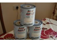 PAINT CASE AGRICULTURAL AS USED ON CASE MACHINES MACHINERY £30
