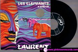 45-GIRI-LAURENT-LES-ELEPHANTS-A-COEUR-1970-ITALY