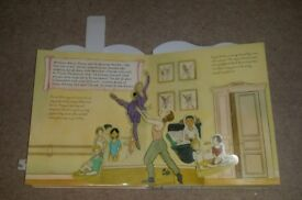 I wish I could be a Ballerina Pop up Book