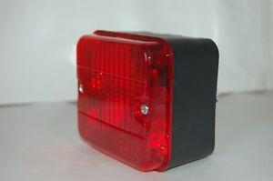 Nebelschlussleuchte Rot 75 x 85 mm Licht Lampe Leuchte Rückleuchte PKW Anhänger