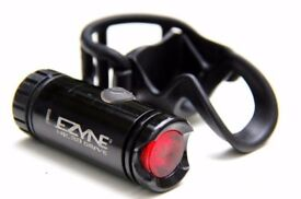 LEZYNE MICRO DRIVE BIKE CYCLING REAR LED LIGHT 70 LUMENS USB RECHARGEABLE COMMUTE ROAD