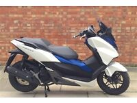 Honda Forza 125cc (16 REG), Excellent condition with Only 3855 Miles!
